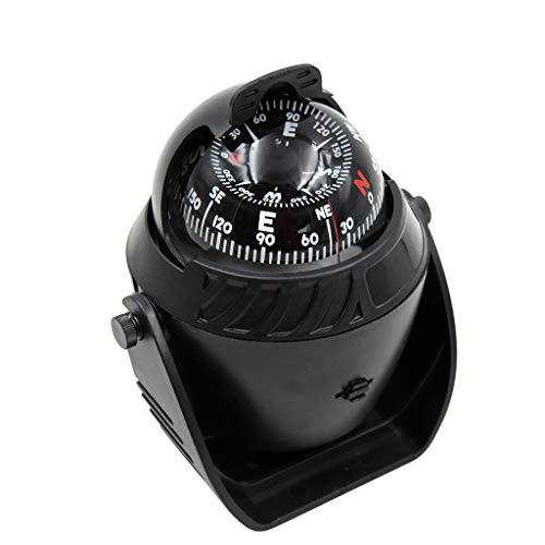 perfk 1 Stück Kompass Multifunktions-Kompass, Wasserdichter Kompass für Fahrrad, Wandern, Camping, Climing Freien