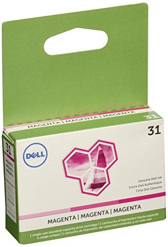 Dell (Series 31) Single Use Magenta Ink Cartridge (OEM# 331-7690) (200 Yield)
