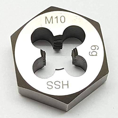 M10 Schneideisen SECHSKANT Schneidmutter Regelgewinde