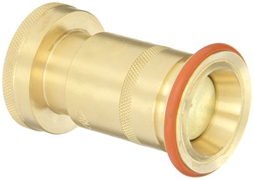 Dixon Valve BFNE150NST Brass Fire Equipment, Electrical All Fog Nozzle, 1-1/2 NST (NH) by Dixon Valve & Coupling