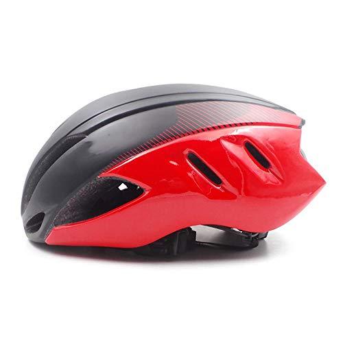 SFBBBO Casco Bicicleta Aero Bike Helmet Aerodinámica Seguridad TT Cascos de Ciclismo...