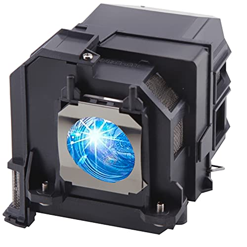 Replacement Projector Lamp for Epson ELPLP91/ V13H010L91 DT Home Cinema PowerLite 680 685W 685Wi EB-680 EB-680S EB-685W EB-685Wi EB-685Ws EB-695Wi Projector Bulb with Housing