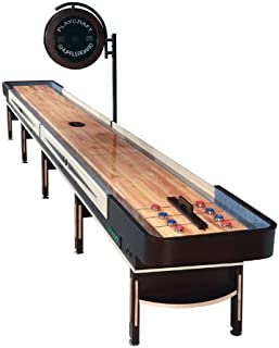 Playcraft Telluride Pro-Style Shuffleboard Table with Electronic Scorer