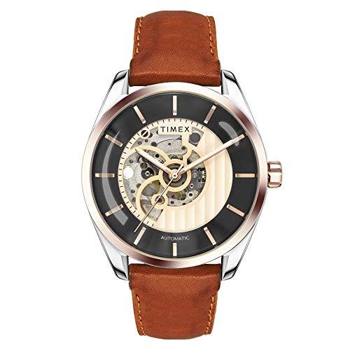 Timex Automatic Analog Black Dial Men's Watch-TWEG17503