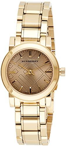 BURBERRY Unisex Uhr Analog Quarz mit Edelstahl Armband BU9227