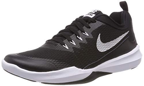 Nike Herren Legend Trainer Fitnessschuhe, Schwarz (Black/Metallic Silver/White 001), 38.5 EU