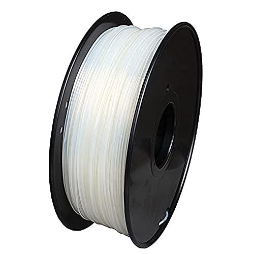 3D Printer Filament,3D Printer Consumables, PA6 Nylon Filament, High Tenacity, 1.75Mm, 1Kg Spool-,Transparent