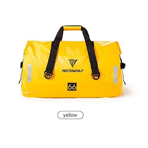 XD7 - Bolsa Trasera Impermeable para Moto, Bolsa de Viaje, Bolsa para...