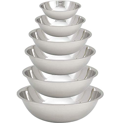 Tiger Chef Stainless Steel Mixing Bowls Set
