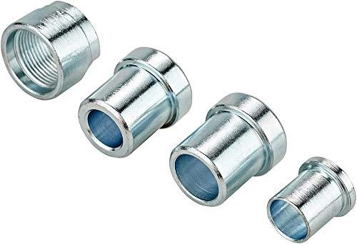 Elite Unisex– Erwachsene Steckachsen-3204004910 Steckachsen, Silber, One Size