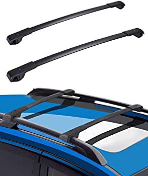 Roof Racks Cross Bars Compatible with 2014-2021 Subaru Forester Aluminum Roof Rail Cross Bars Low Wind Noise Rooftop Cargo Carrier Crossbars