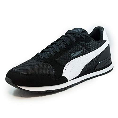 PUMA St Runner V2 Mesh, Sneaker Unisex – Adulto - Blu (Peacoat-Puma White) - 37 EU