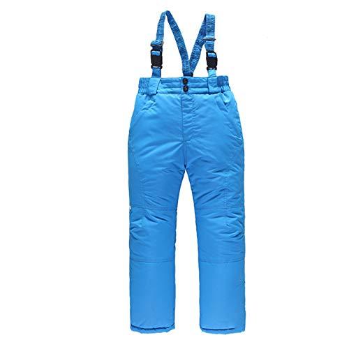 FengGa Kinder-Skihose Abnehmbaren Träger Interhose Schneehose Für Junge Und Mädchen Winddicht, Thermohose Atmungsaktiv Snowboardhose Schneedicht