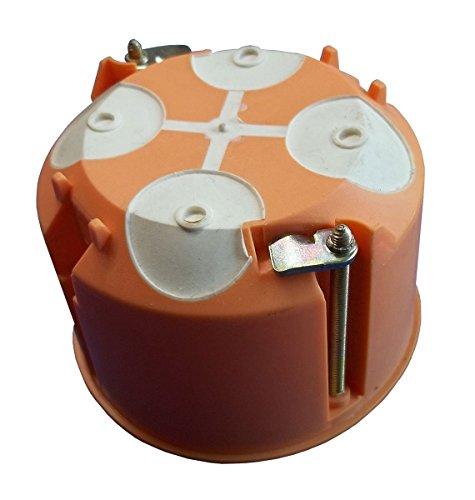 Hohlwanddose mit Membrane 61 mm tief (5 Stück Hohlwand-Abzweig-Schalterdose)