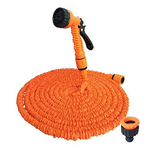 HEYBD Magic Telescopische waterpijp, hoge druk multifunctionele auto wassen waterpistool slang tuin gereedschap oranje pak Thuis Pvc Jet waterleidingen