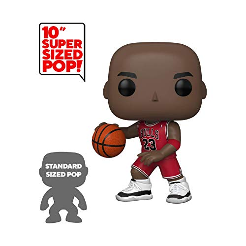FUNKO POP! NBA: Bulls - Michael Jordan 10u0022 (Red Jersey)