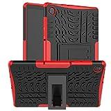 KATUMO Silicone Coque pour Lenovo Tab M10 HD (2nd Gen) 10.1 Pouces TB-X306F/X306X Housse de Protection Coque PC Hybride pour Lenovo TB-X306F/X306X