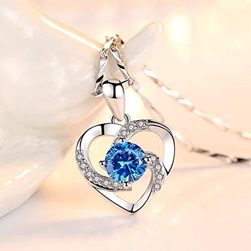TREW Nieuwe Kristallen Hanger Choker Ketting 925 Sterling zilveren Ketting Kettingen voor Vrouwen Bruiloft Sieraden Geschenken