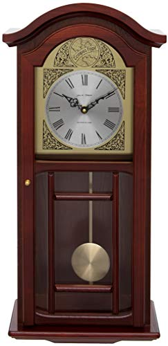 Fox and Simpson Grand Central Station Extra Large 50cm / 20-Inch Wall Clock in Cream (Walnuss)