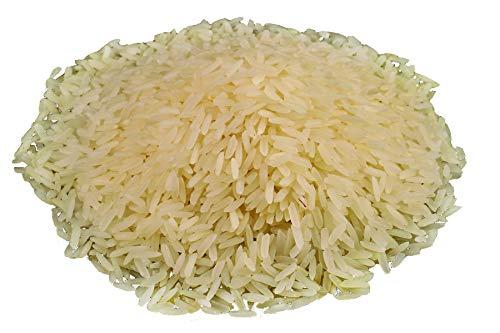 Bio Fairtrade Super Basmati Reis 5kg beste aromatische indische Spitzenqualität, Fair gehandelt aus Indien, exquisiter Geschmack, extra gereinigt 5000g