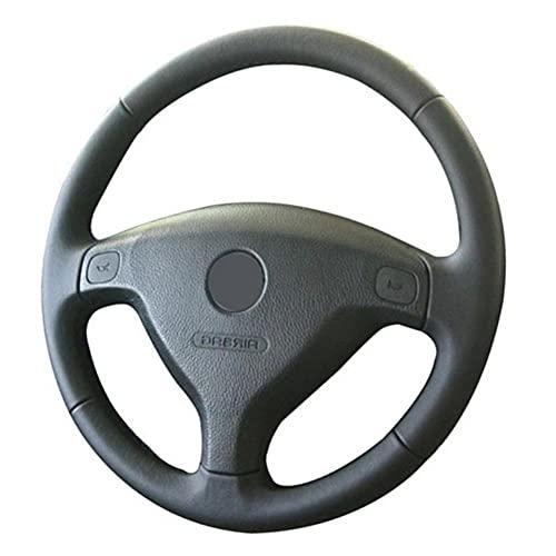 YHDNCG De Cuero Cosido a Mano Transpirable Negro Bricolaje Cubiertas en Volante, para Opel Zafira 1999-2005 Una Vela de Buick Opel Astra G H 1998-2007 Trenzado en el Volante