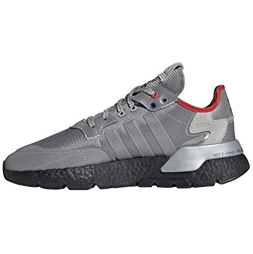 adidas Zapatillas de Correr Nite Jogger para Hombre, Silver, 41 1/3 EU