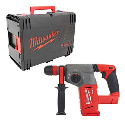MILWAUKEE Perforateur burineur SDS-Plus M18CHX-0X - 4933451430 (solo) 2,5j, 26 mm avec dynacase