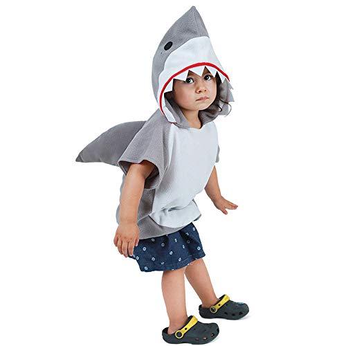 ReneeCho Costume da squalo Costume da Festa per Animali in Halloween Vestito da Cosplay