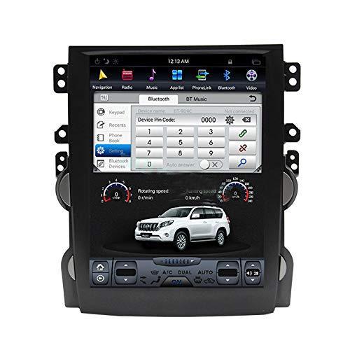 10.4 Inch Android 8.0 1+32G Tesla Style Car GPS Navigation DVD Radio Stereo for Chevrolet Malibu 2013-2015
