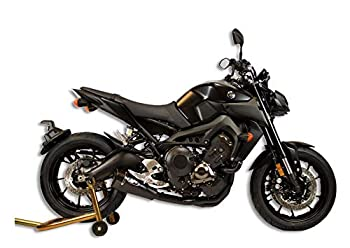 M4 Performance Exhaust All Black Full System with RM1 Canister compatible with 2014-2020 Yamaha FZ-09 MT-09 XSR900 YA6922