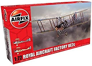 Airfix 1/72 Royal Aircraft Factory BE2c scout plastic model X2104