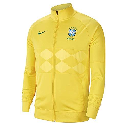 Nike 2020-2021 Brasil I96 Anthem Jacket (oro del medio oeste), Hombre, amarillo, M
