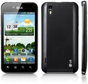 LG P970 Optimus Black,Smartphone Orange débloqués, Android, 9.2mm d'espesor.GPS, Wi-FI b/g / n, Bluetooth, Android 2.2 Noir Titanium