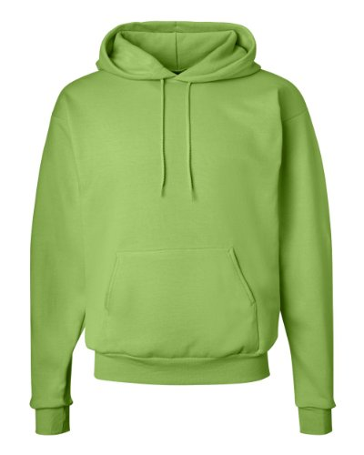 Hanes ComfortBlend® EcoSmart® Pullover Hoodie Sweatshirt L Green