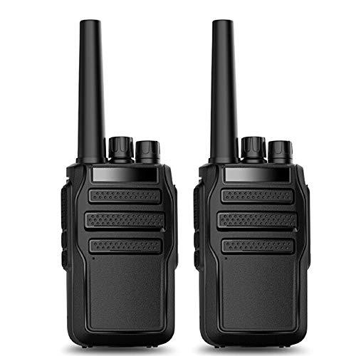 Mini Walkie Talkie Professional, Radio Portatile Bidirezionale Portatile Con Caricatore Usb Scan Squelch 16 Canali Per Comunicazione Per Escursionismo Sito Per Ufficio Per Adulti (confezione Da 2)