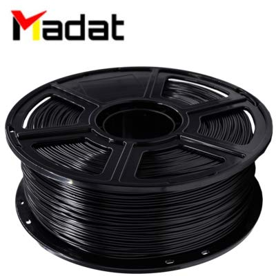 Madat FlashForge PETG filament 1,75 mm (1 kg) voor Creator Pro Creator 3 Guider Series 3D-printer, rood, 1