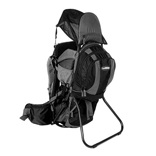 Premium Baby Backpack Carrier with Removable Backpack - 2 in 1 for Hiking with...