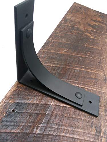 "ONE Decorative Metal Support Bracket 6""x7"" or 7.75""x 9.75"" Shelf bracket, Metal shelf bracket, Iron shelf bracket, Floating shelf, Shelving"