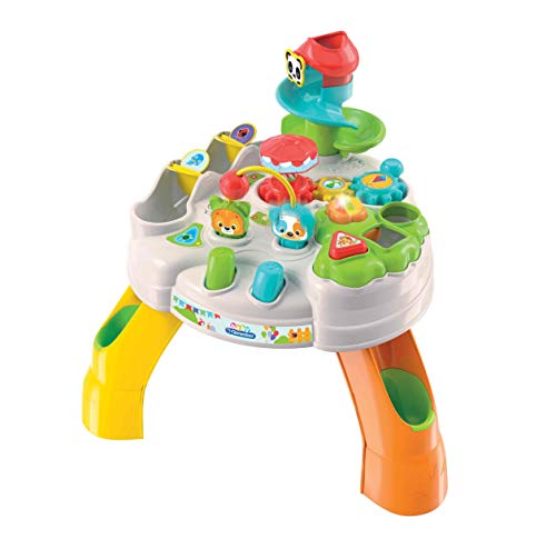 Clementoni- Baby Mesa Happy Park, 17300, Multicolor