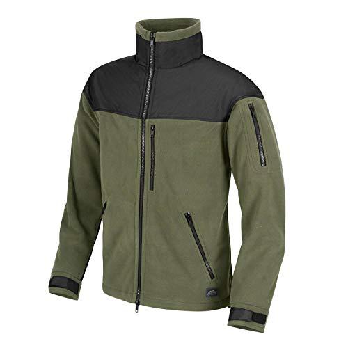 Helikon-Tex Classic Army Jacke -Fleece, Olivgrün / Schwarz, XL