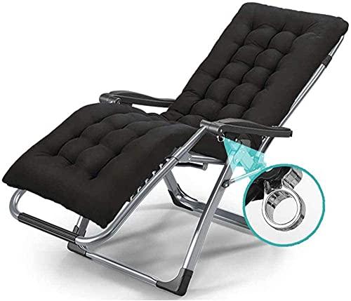 Outdoor Reclination Zero Gravity Sedia Singolo Camp Letto Lounge Chair Donne Incinte Sedia Poltroncina DEP Bed Office Lunch Breat Recliner Metallo Blocco Rinforzato