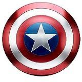 sookin Capitan America Scudo Supereroe Scudo 1: 1 Marvel Giocattolo Replica Bar Decorazione Battuto 47 Cm in Metallo Puntelli Cosplay Scudo per Adulti Scudo Capitan America
