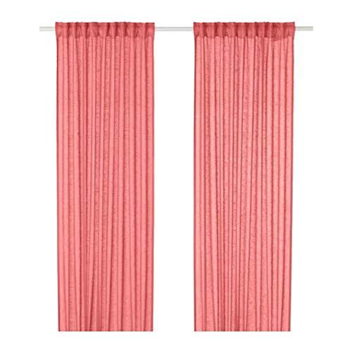 IKEA Lejongap Vorhänge 1 Paar pink 304.140.70 Größe 57x98