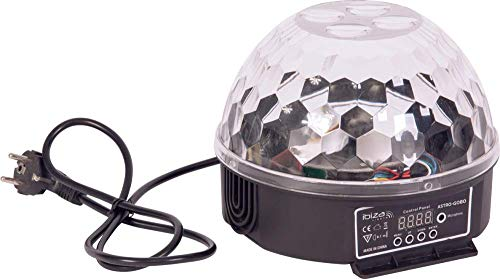 IBIZA ASTRO-GOBO 2in1 LED Gobo & Strahlen Effekt 8x3 Watt DEKO BÜHNE PARTY DISCO MUSIK CLUB DJ