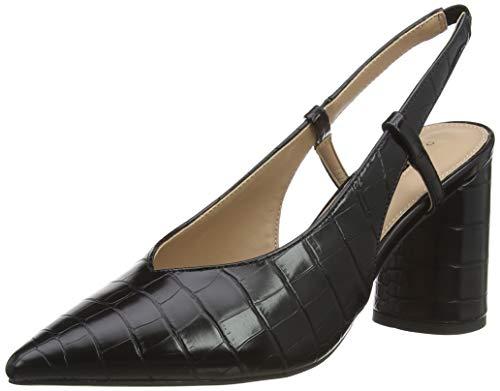 Dorothy Perkins District High Vamp Court, Escarpins Bout fermé Femme, Noir (Black 010), 39 EU