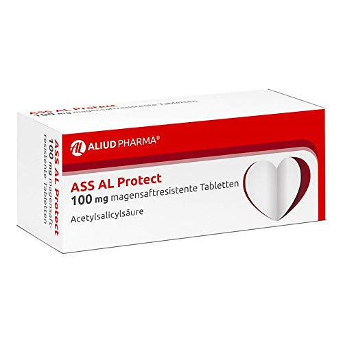 ASS AL Protect 100 mg magensaftres.Tabletten 50 St Tabletten magensaftresistent