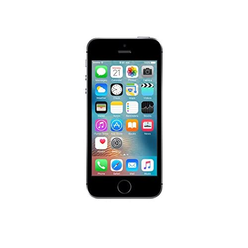Amazon Com Apple Iphone Se Unlocked Phone 16 Gb Retail Packaging Space Gray