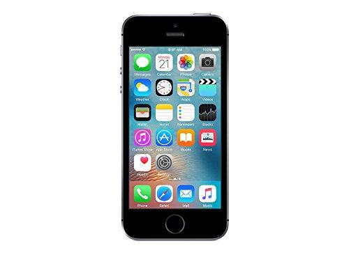 Apple iPhone SE, Desbloqueado (Unlocked) teléfono (versión internacional), 32 GB, Gris Espacial