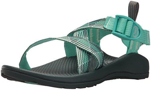 Chaco womens Z1 Ecotread Kids Sport Sandal, Marled Pine, 3 Little Kid US