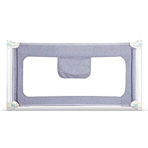 LHA akcesoria do łóżeczka łóżeczkowego, barierka zabezpieczająca przed pękaniem, ścianka nocna dla niemowląt, bezszwowa, cicha lift, przełącznik może wynosić -150 cm, 180 cm, 200 cm, 220 cm (kolor : L-180 cm)